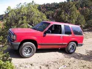 '92 Mazda Navajo